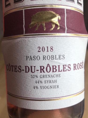 Eberle - Côtes-du-Rôbles Rosé - 2018