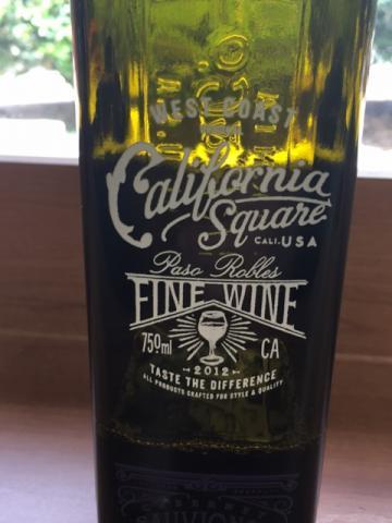 California Square - Three Red Blend - 2012