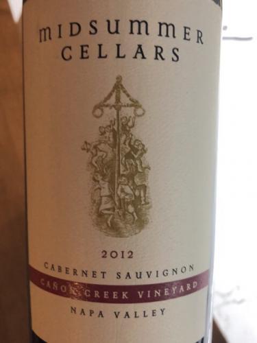 Midsummer - Clark-Claudon Vineyard Cabernet Sauvignon - 2012