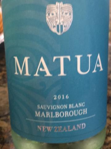 Matua - Sauvignon Blanc - 2016