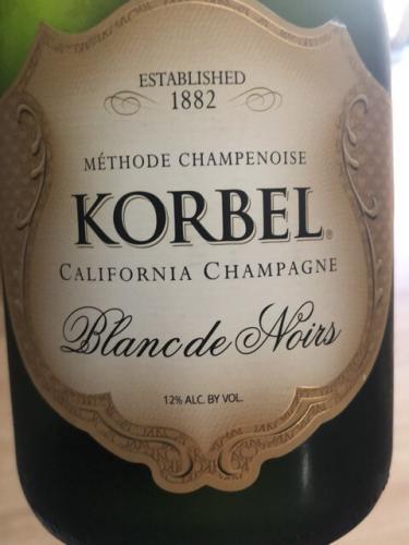 Korbel - Blanc de Noirs - N.V.