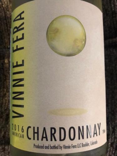 Vinnie Fera - Chardonnay - 2016