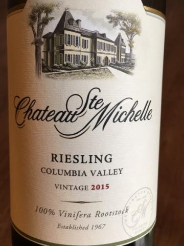 Château Ste. Michelle - Riesling - 2015