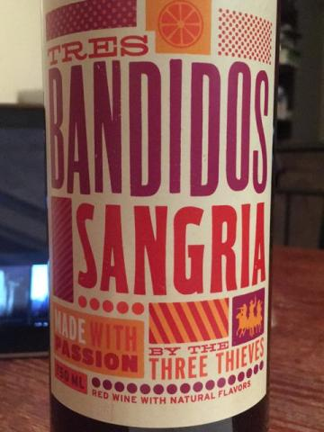 Tres Bandidos - Sangria - N.V.