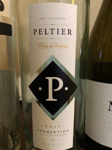 Peltier - Vermentino - 2017
