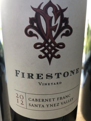 Firestone - Cabernet Franc - 2012