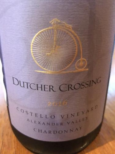 Dutcher Crossing - Costello Vineyard Chardonnay - 2014