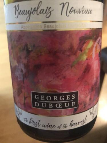 Georges Duboeuf - First Wine of the Harvest Beaujolais Nouveau - 2018