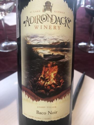 Adirondack Winery - Baco Noir - 2017