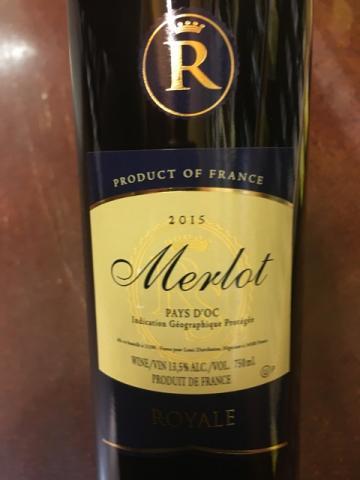 Royale - Merlot - 2015