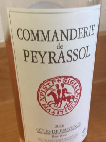 Château Peyrassol - Commanderie de Peyrassol Côtes de Provence - 2016