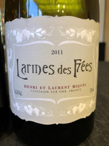 Laurent Miquel - Larmes des Fées - 2011
