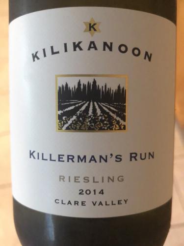 Kilikanoon - Killerman's Run Riesling - 2014
