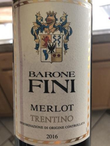 Barone Fini - Merlot - 2016
