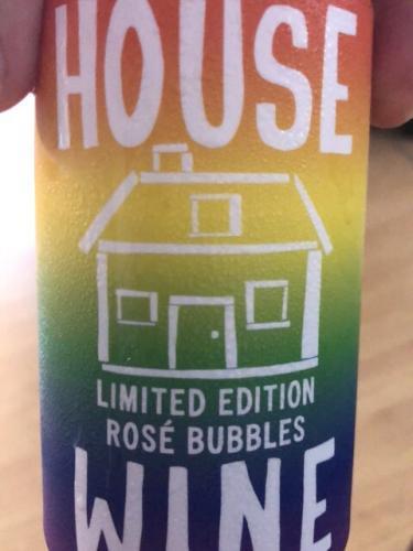 Original House Wine - Limited Edition Rosé Bubbles - 2015