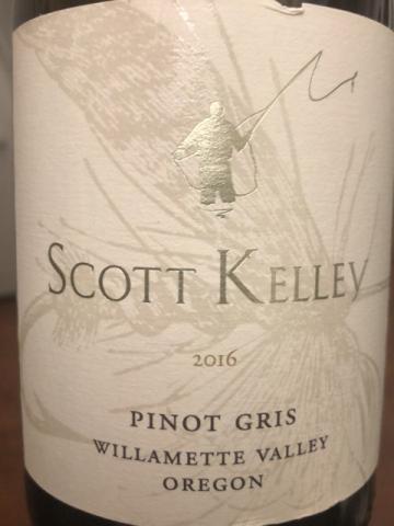 Scott Kelley - Pinot Gris - 2016