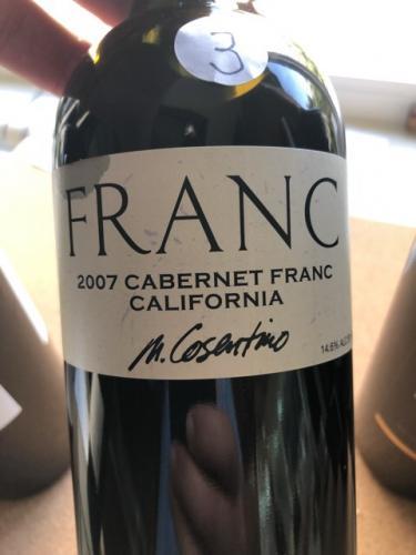 Cosentino - The Franc Cabernet Franc - 2007