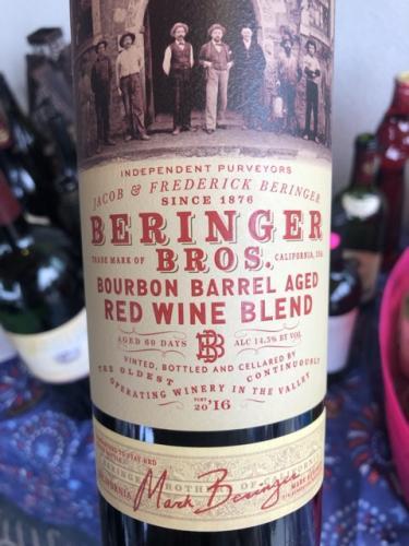 Beringer - Beringer Bros. Bourbon Barrel Aged Red Blend - 2016