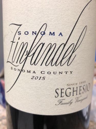 Seghesio - Sonoma Zinfandel - 2015
