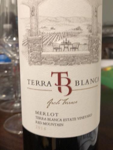 Terra Blanca - Arch Terrace Merlot - 2016
